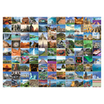 10088 - Ravensburger Puzzle 99 Beautiful Places on Earth - 1000 Pc Puzzle
