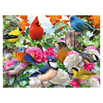 10140 - Ravensburger Garden Birds - 500 Pc Puzzle