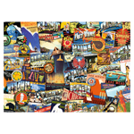 10121 - Ravensburger Road Trip USA - 1000 Pc Puzzle