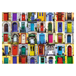 10107 - Ravensburger Doors Of The World - 1000 Pc Puzzle
