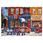 10103 - Ravensburger Canadian Collection St. Viateur Bagel   Hockey - 1000 Pc Puzzle