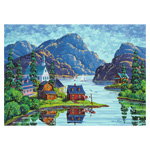 10094 - Ravensburger Canadian Collection The Saguenay Fjord - 1000 Pc Puzzle