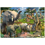 10024 - Ravensburger At the Waterhole 18000 Piece Puzzle