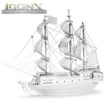 11152 - Iconx 3D Metal Model Kits - Black Pearl