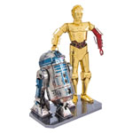 13352 - Metal Earth Star Wars Gift Box C3PO and R2D2