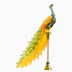 13364 - Iconx 3D Metal Model Kits - Peacock