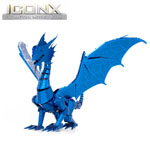ICONX Blue Dragon 3D Metal Model Kit