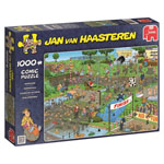 12050 - Jan Van Haasteren Mudracers 1000 Piece Jigsaw Puzzle