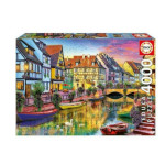 14982 - Educa Canal de Colmar, France - 4000pc Puzzle