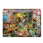 14702 - Educa Entering the Bedroom - 6000 Pc Puzzle