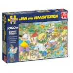 15183 - Jan van Haasteren Camping in the Forest - 1000pc Puzzle (19086)