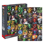 14944 - Aquarius Marvel Villains Collage 1000 pc Puzzle