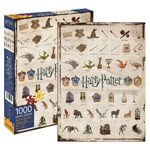 Aquarius Harry Potter Icons - 1000 Pc Puzzle