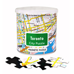 11703 - City of Toronto 100 Piece Magnetic Puzzle