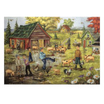 15267 - Trefl Canadian Artist Collection: Pig Jig by Christine Genest - 1000 pc Puzzle (670411)