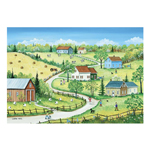 14756 - Trefl Canadian Artist Collection: Country Summer by S. Mark - 500 Pc Puzzle