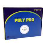 iPong Poly Pro Table Tennis Balls