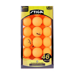 11754 - Stiga One-Star Table Tennis Ball, 46-Pack (Orange)