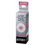 Butterfly 3-Star G40+ Table Tennis Balls - 3 Pack