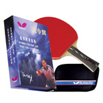 8551 - Butterfly Kong Linghui Flared Handle Racket