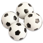 3676 - Black and White Foosball Balls (4 pack)