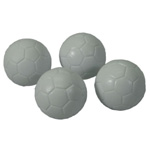 7100 - White Engraved Foosball Balls (4 pack)