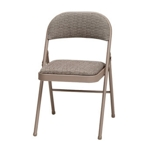 3741 - Folding Chair Chicory Lace with Courtyard Fabric