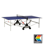 3758 - Kettler Stockholm GT Indoor Blue Table Tennis / Ping Pong Table