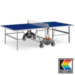 6535 - Kettler Champ 3.0 Institutional / Tournament Indoor Blue Table Tennis Table