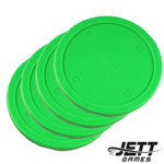 82 mm Commercial Air Hockey Puck - 4 Pack