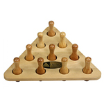 13444 - Shuffleboard Bowling Pin And Rack Set