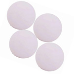 10061 - Roberto White Foosballs 30mm (4 Pack)