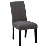 10189 - Scarpa Stud Chair - Slate