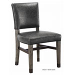 12540 - Rustic Game Chair - Whiskey Barrel and Smoke Finish