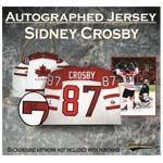 7395 - Sidney Crosby Signed Team Canada Pro 2010 Olympic Jersey