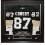 7394 - Sidney Crosby Pittsburg Penguins Framed Jersey