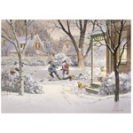 6679 - Cobble Hill Backyard Heros 500 piece puzzle