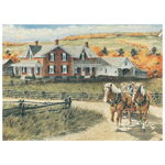 6694 - Cobble Hill Autumn Outing 1000 piece puzzle
