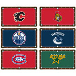 6073 - NHL Team 8' Bed and Rails Cloth (Special Order)