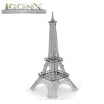 11149 - Iconx 3D Metal Model Kits - Eiffel Tower