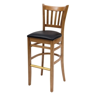 180307-Grill Wooden Bar Stool