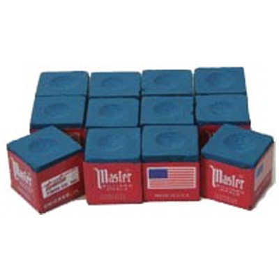 200064-Cue Chalk Master Blue (12 pack)