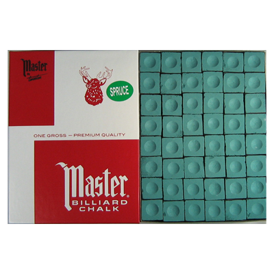 200136-Cue Chalk Master Spruce - 144 Pack