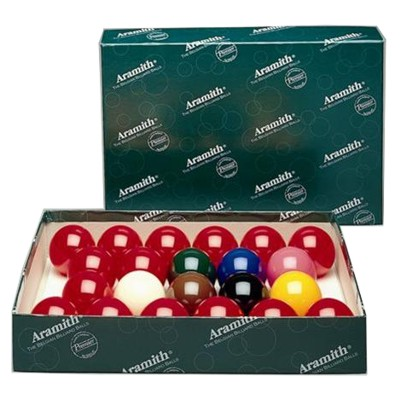 210012-Premier 2 1/16''Snooker Ball Set