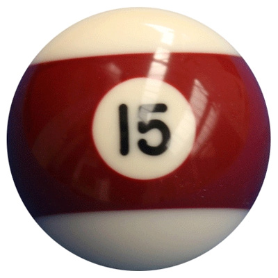 F G Bradley S Billiard Balls Individual Premier 15