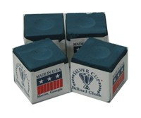 220071-Cue Chalk Silver Cup Blue (4 pack)