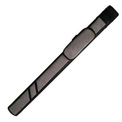 230010-Black and Grey 1 butt and 1 Shaft Cue Case