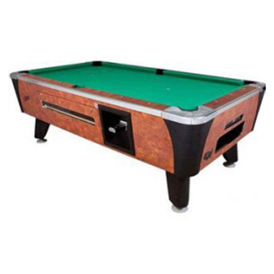 FG Bradleys Billiard Tables Coin Operated Dynamo Sedona - 3 1 2 x 7 pool table