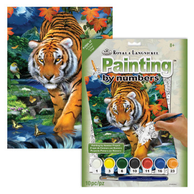 333607-On the Prowl Paint by Numbers Set (PJS84)