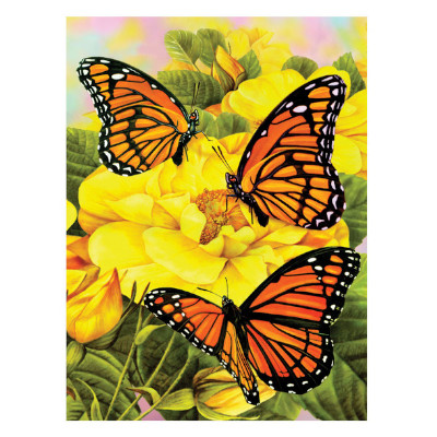 333615-Majestic Monarchs Paint by Numbers Set (PJS68)